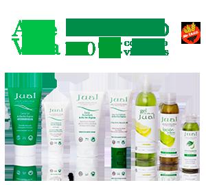 Línea de cosmética de aloe vera orgánico