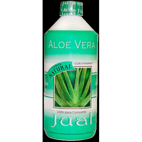 500 cc - Jugo de Aloe Vera Orgánico Bebible, Sabor Natural