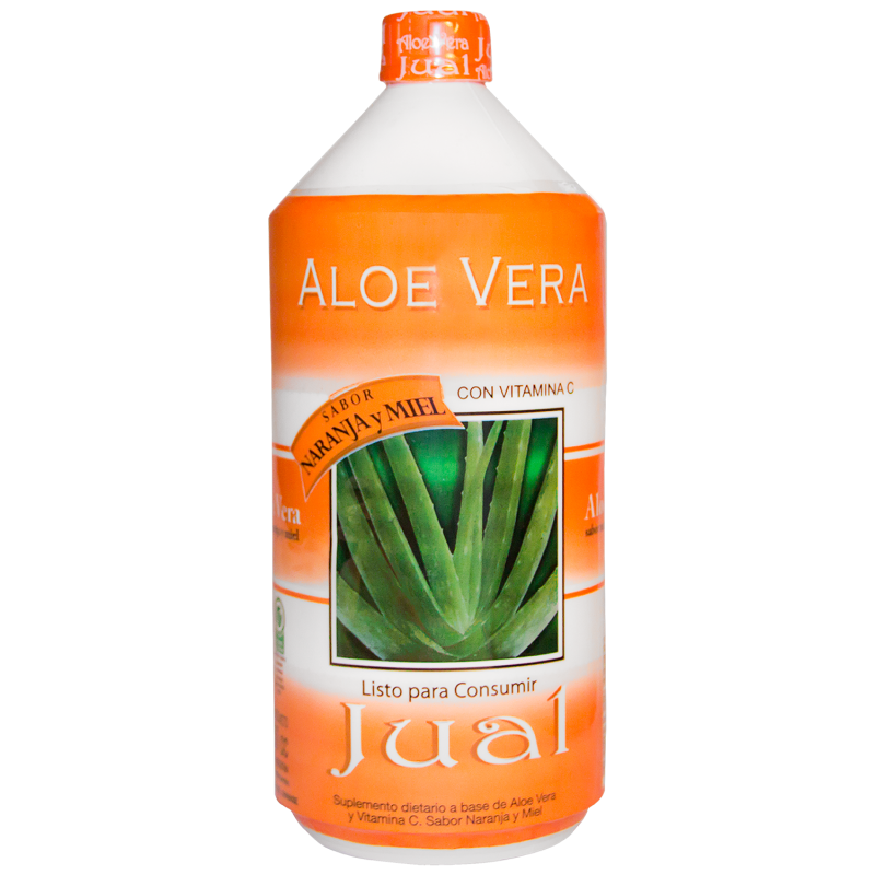 Jugo Bebible de Aloe Vera Sabor Naranja y Miel x 1 litro