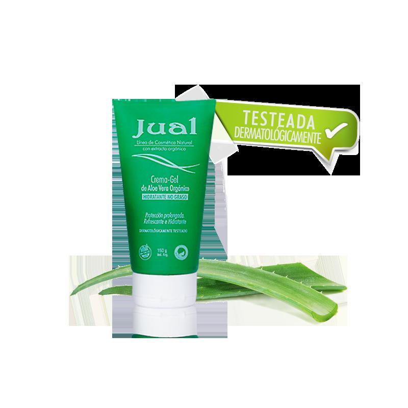 Crema Gel Hidratante de aloe vera orgánico