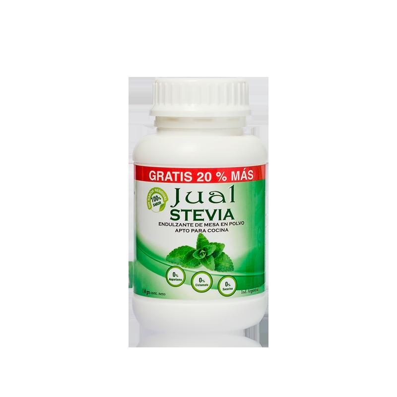 Edulcorante Natural Stevia polvo 110 gr.