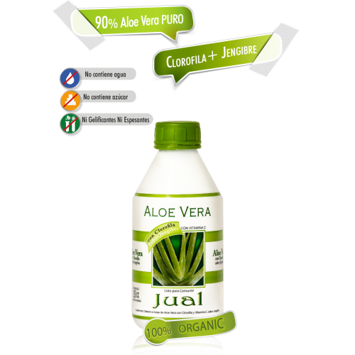 Pure Aloe Vera extract ORGANIC certified