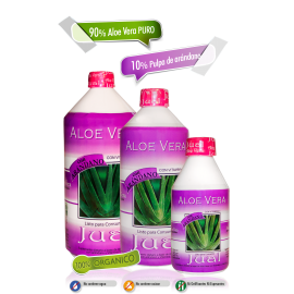 Drinkable Blueberry-flavoured Organic Aloe Vera