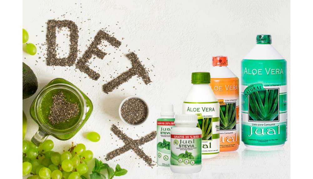Green Juice detox from aloe vera Jual