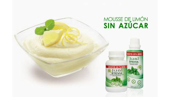 Lime mousse without sugar