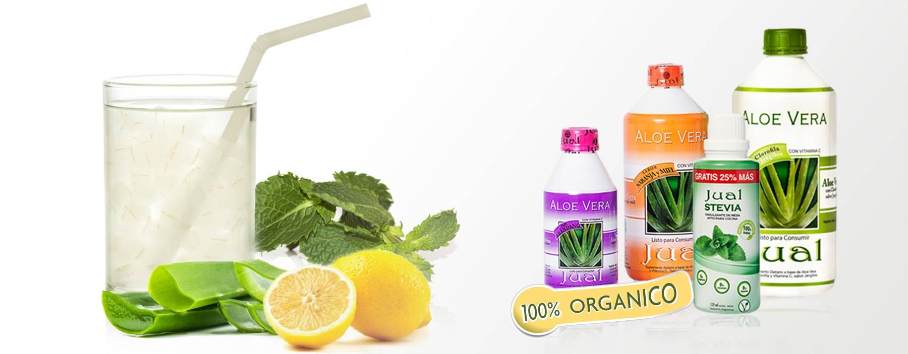 Perde peso con jugos de aloe vera y limón